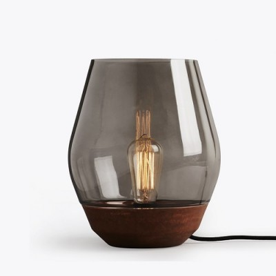 Copper U0026 Glass Table Lamp | Chameleon